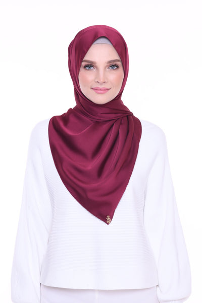 ( Shawl ) Just Matte Satin Basic - American Beauty