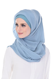 Claudia Angel Blue Square Instant - Sugarscarf