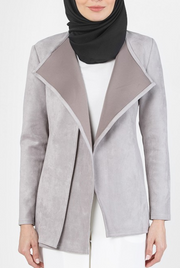 GRAY EDITH JACKET - Sugarscarf