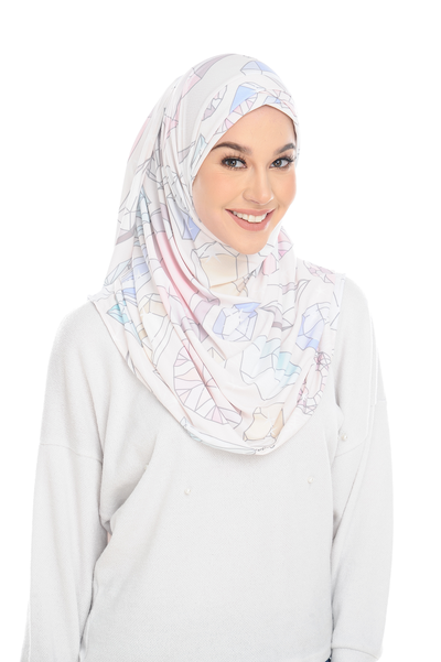 ( Shine Bright )Pinless Semi Instant Shawl ( Choose awning ) -