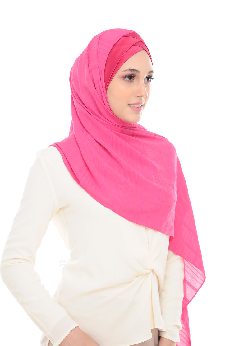Travel Tudung ( Kelly Sofia in Pink Captive )