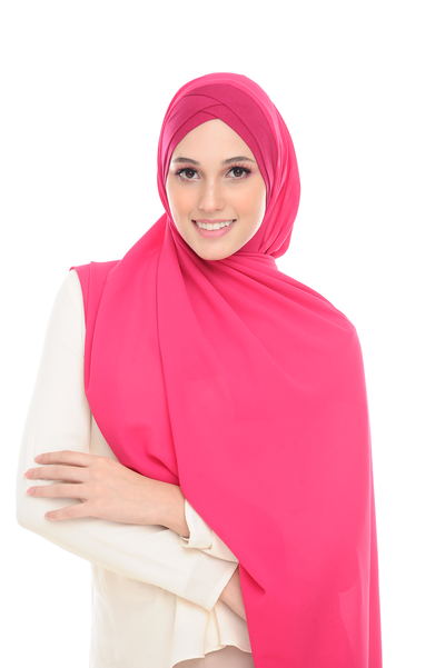 CS Instant Shawl MADISON CLASSIC PINK PEONIES