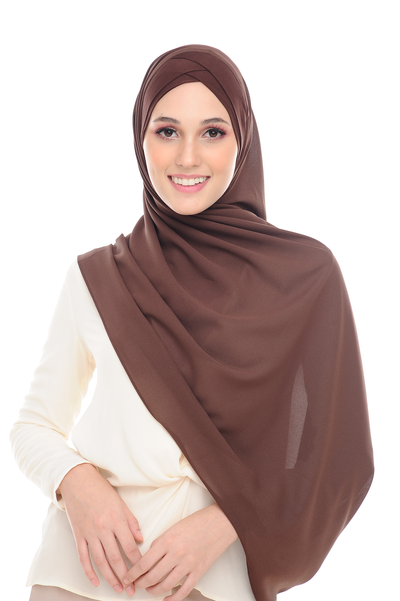 CS Instant Shawl MADISON CLASSIC CHOCOLATE FONDUE - Sugarscarf