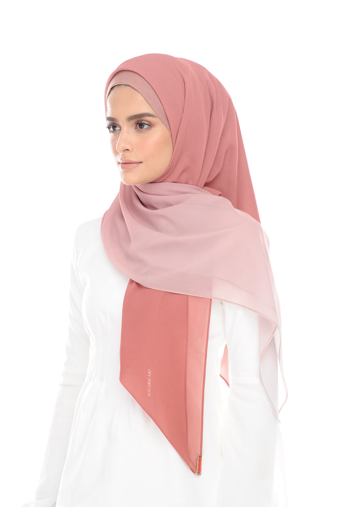 Ombre Claudia 2-in 1-Instant (Sunset) - Chiffon