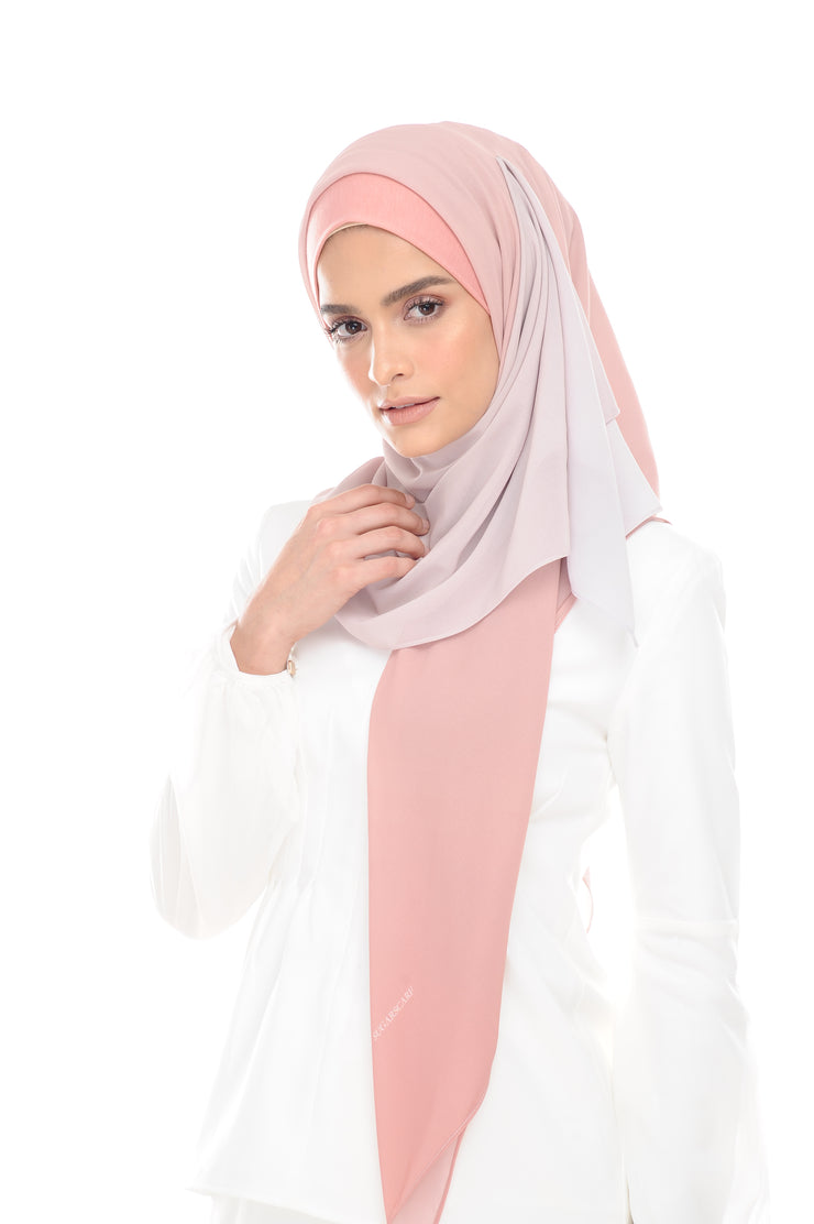 Ombre Claudia 2-in 1-Instant  (Cloud Pink ) - Chiffon