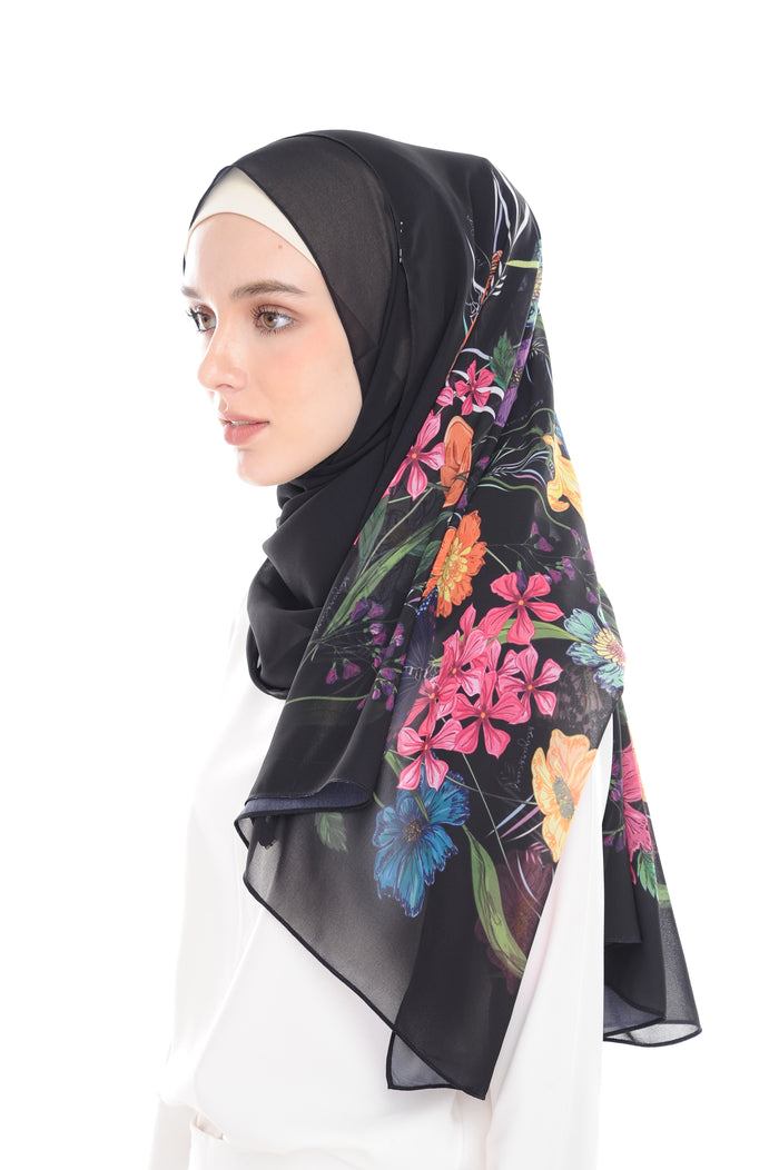 BeeAmazing [Shawl] - Black