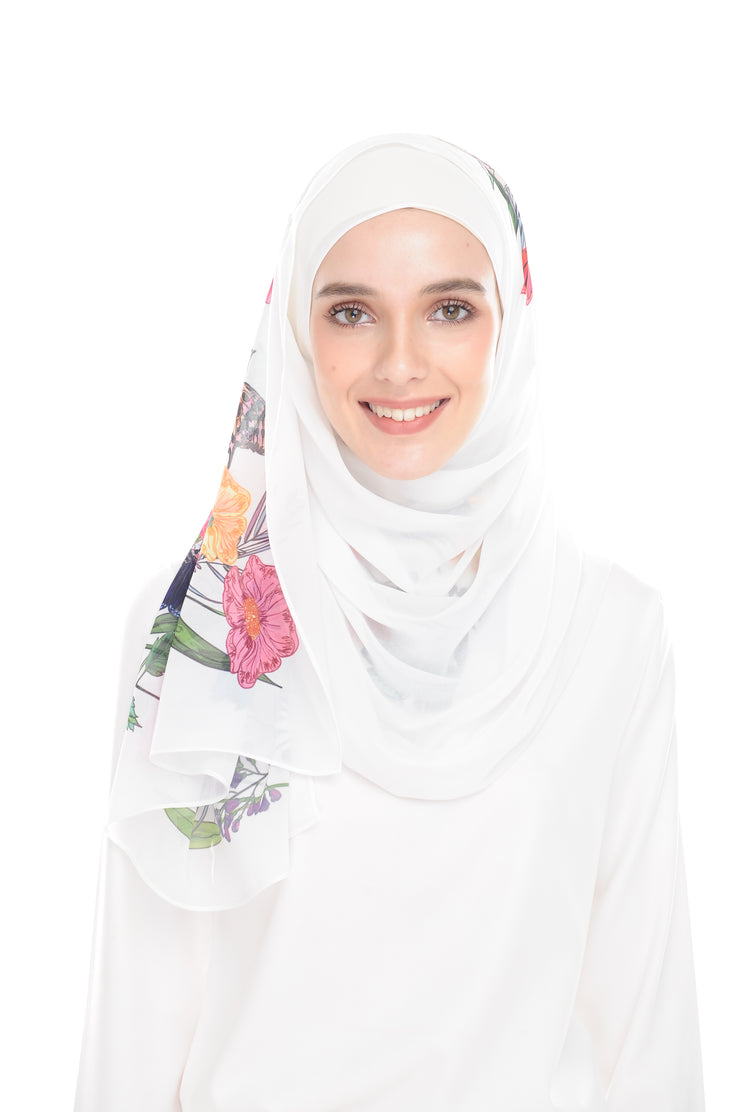 BeeAmazing [Shawl] - White