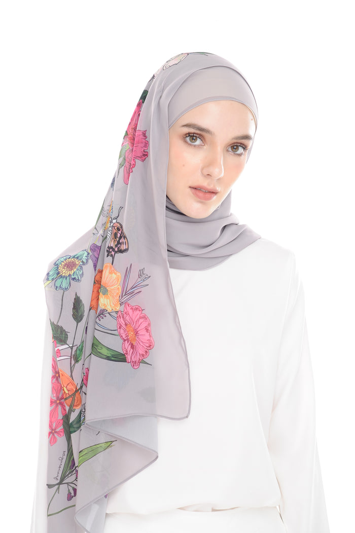 BeeAmazing [Shawl] - Grey