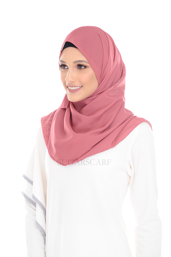 Charisma Rosey Pure Long Scarf