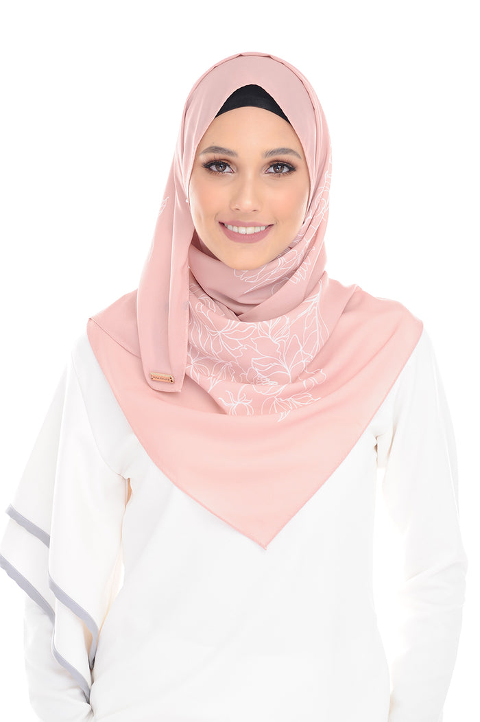 PeachPink Pure Long Scarf