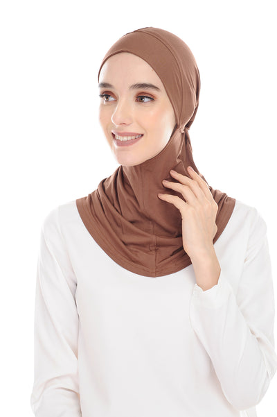 MagicFitInner Inner neck Tieback Sugarscarf - CocoPuff ( Free Size ) -  Round Style