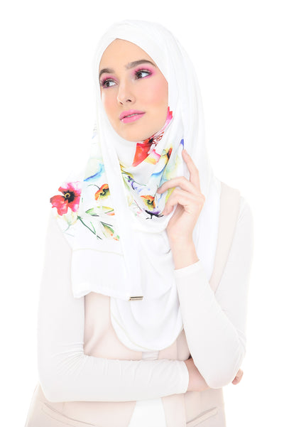 MADISON FLORAL EDITION IN WHITE