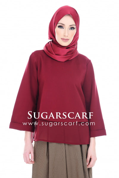 Kayla Top Red - Sugarscarf