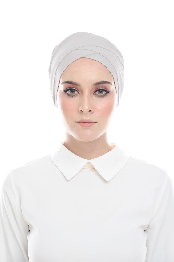 Classic Inner Hana Snow Cap ( No tie back ) - Layered Style ( Storm )