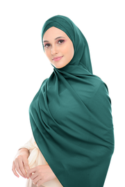 CS Instant Shawl MADISON CLASSIC GREEN GODDESS - Sugarscarf