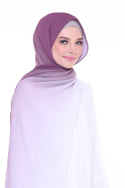 Lapez Ombre Wide Pleated Shawl - Florence