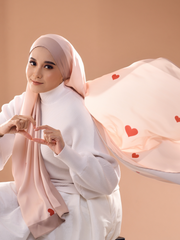 Love Negaraku Scarf Lux Mixed Satin Silk Shawl