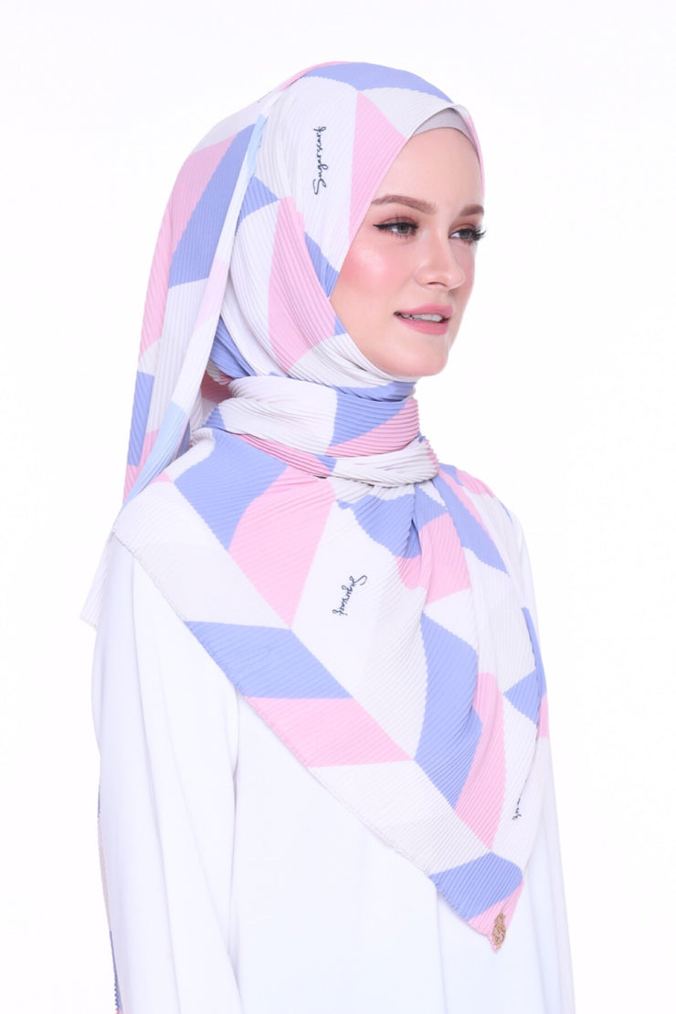 Geometry Girlboss - Full pleats shawls 0.9m ( limited edition august )