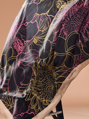 Hibiscus Lux Mixed Satin Silk ( Square ) - Jelita