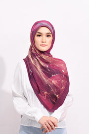 Dolce Pleats Long Shawl in Stay Together ( Choose Size)