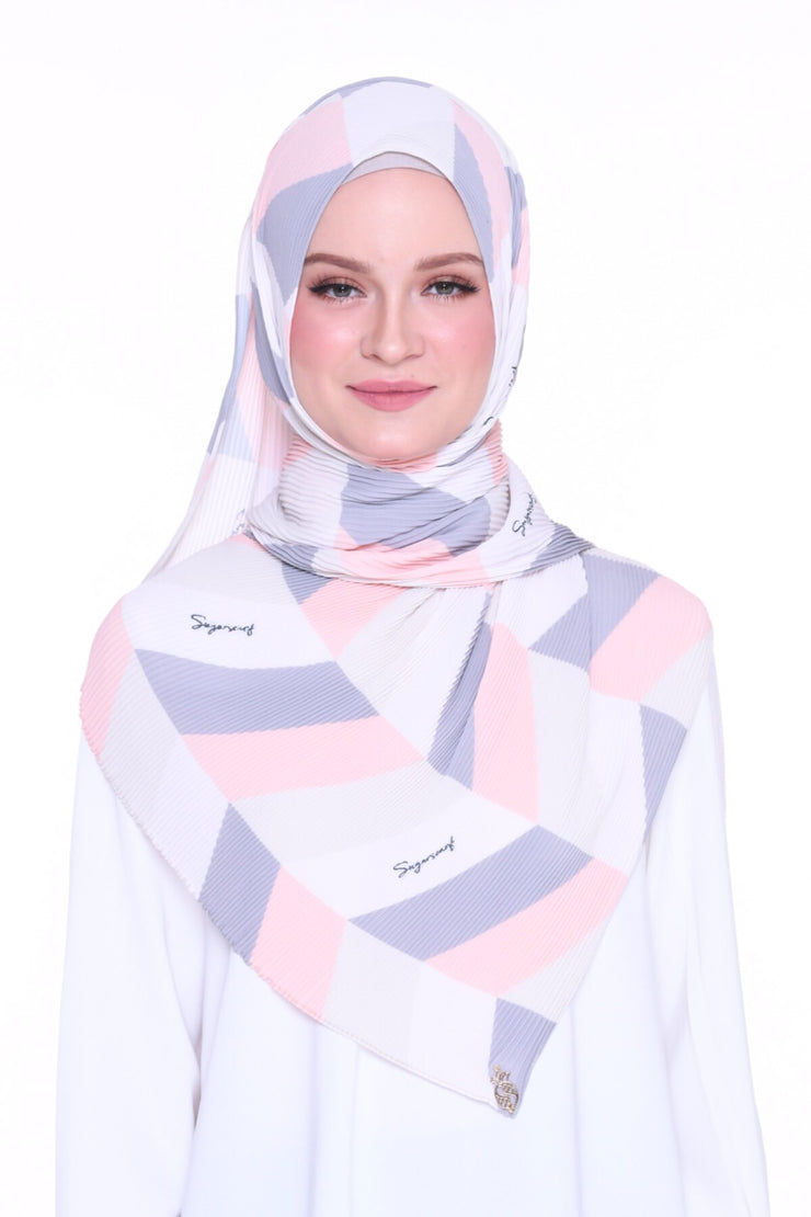 Geometry Covergirl - Full pleats shawls 0.9m ( limited edition august )