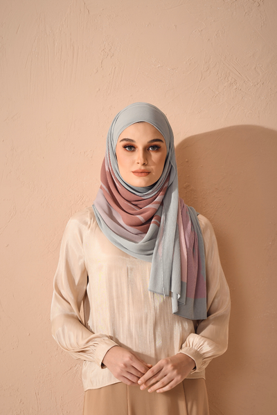 (Full Pleats ) EUPHORIA Shawls in Naive ( Choose Size )