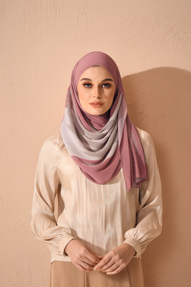 (Full Pleats ) EUPHORIA Shawls in One Wish
