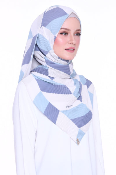 Geometry 17again - Full pleats shawls 0.9m ( limited edition august )