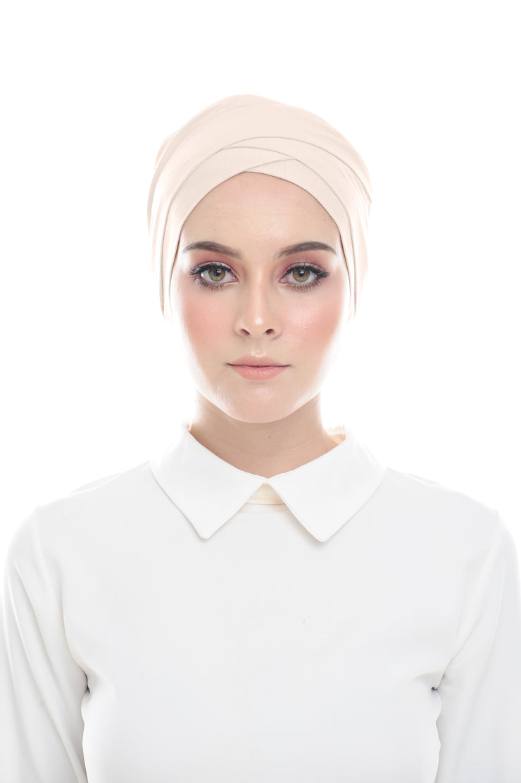 Classic Inner Hana Snow Cap ( No tie back ) - Layered Style ( Bleached )