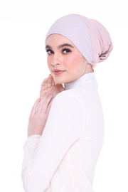 Blink Inner  - Classic Round Style ( AshPink ) With Tie Back