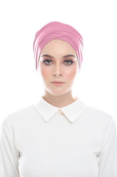 Classic Inner Hana Snow Cap ( No tie back ) - Layered Style ( Legally pink )