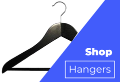 Black Stationary Bar Hanger