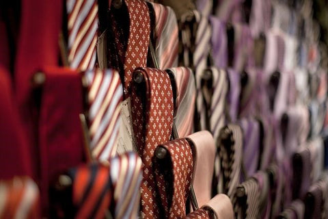 Built-In Tie Racks