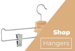 Chrome Plated Skirt Pants Hangers
