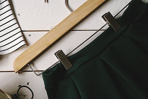 How To Hanger Dress Pants On Hangers