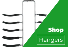 Non-slip Tie or Belt Swivel Hanger Organizer