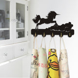 Decorative Wall Hanger - Jumping Unicorn