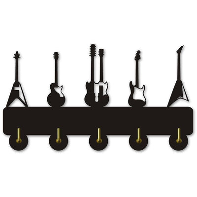 Decorative Wall Hanger - Guitars