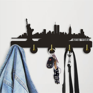 Decorative Wall Hanger - New York Skyline