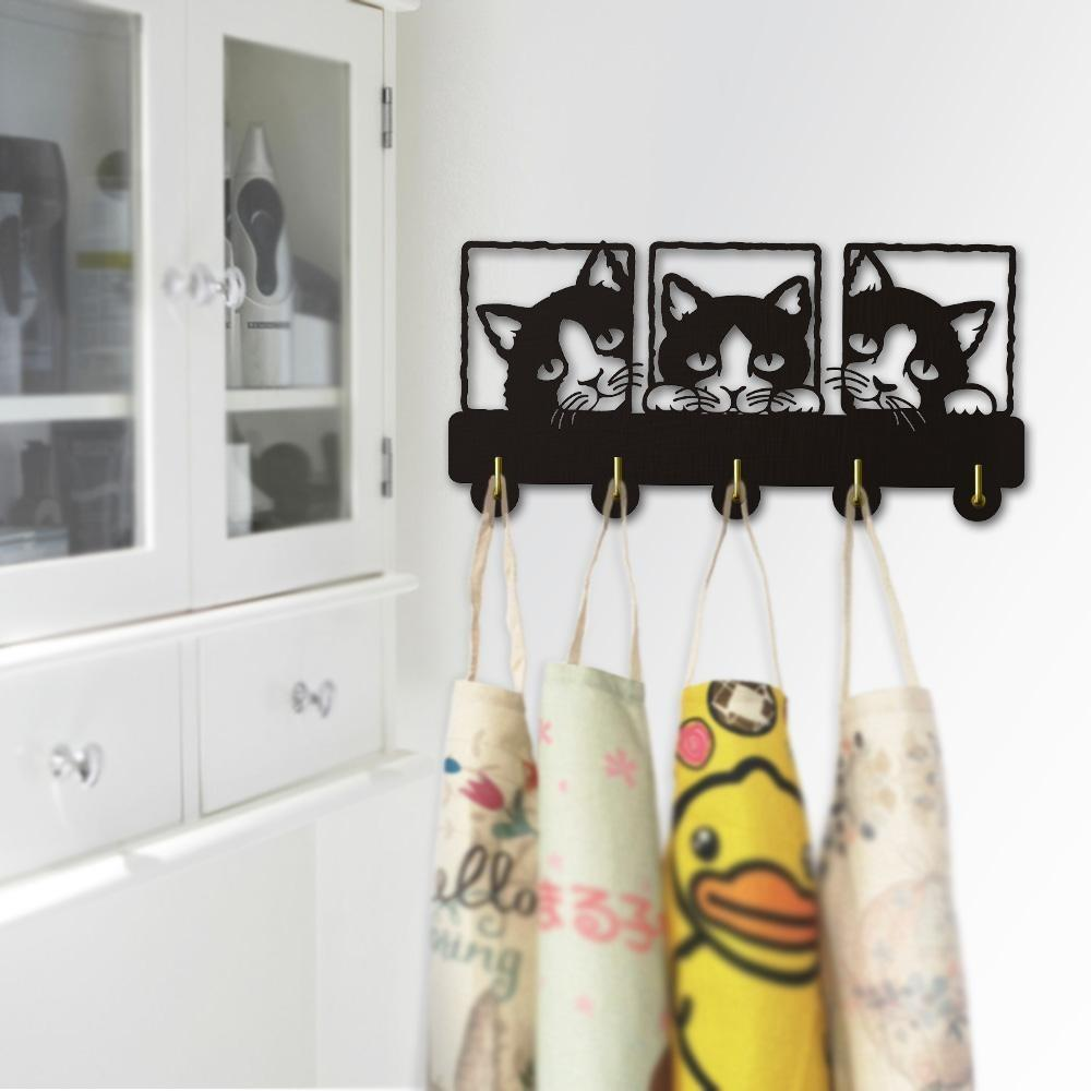 Decorative Wall Hanger - Peeping Cat
