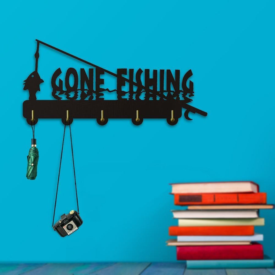 Decorative Wall Hanger - Gone Fishing