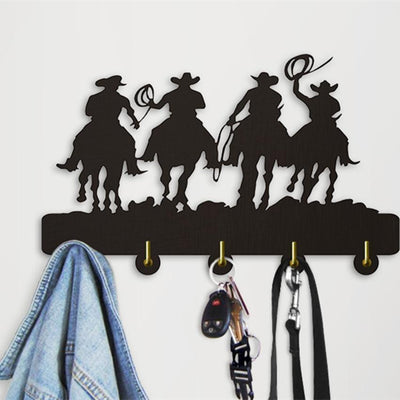 Decorative Wall Hanger - West Cowboy