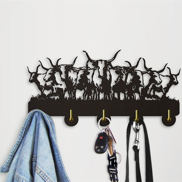 Decorative Wall hanger - Wildlife Buffalos
