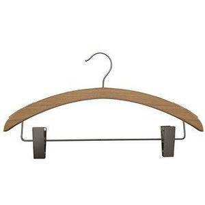 Wooden Suit Hangers - Low Gloss Natural - 16""