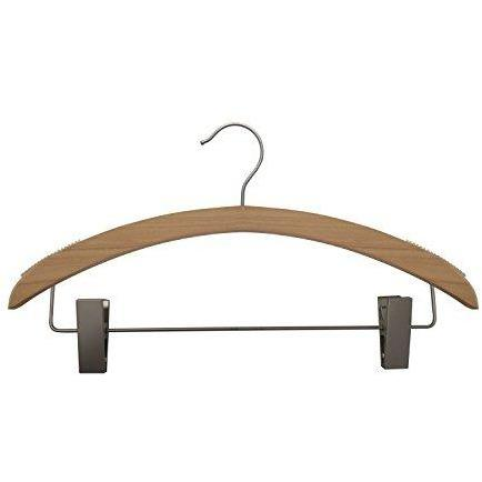 Wooden Suit Hangers - Low Gloss Natural - 16