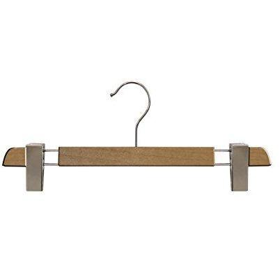 Wooden Skirt/Pant Hangers - Natural Finish - 14""