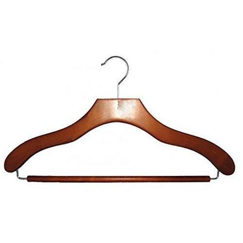 Wooden Suit Hangers - Cherry - 17""