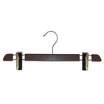 Wooden Skirt/Pant Hangers - Cherry Finish - 14""