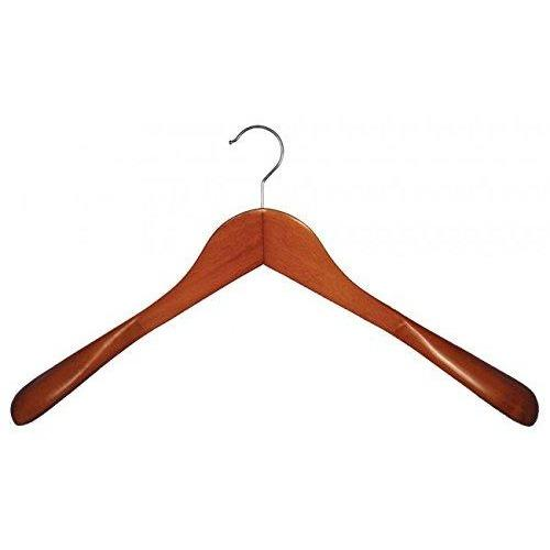 Wooden Shirt Hangers - Cherry - 18""