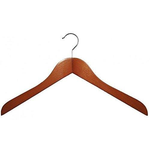 Wooden Shirt Hangers - Cherry - 17 ½""